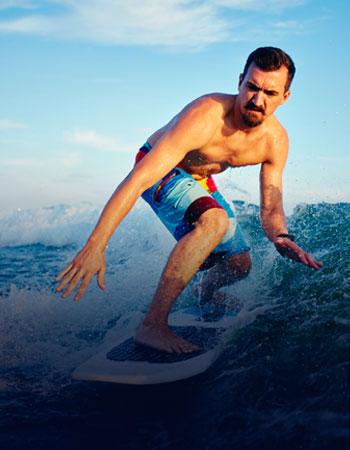 Surf is looking