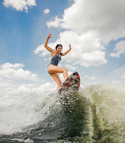 Surfing for pleasure